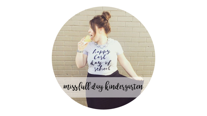 "Miss Full Day Kindergarten- ""Having a Strong Passion"""