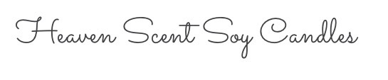 """My collaboration with """" Heaven Scent Soy Candles"""""""